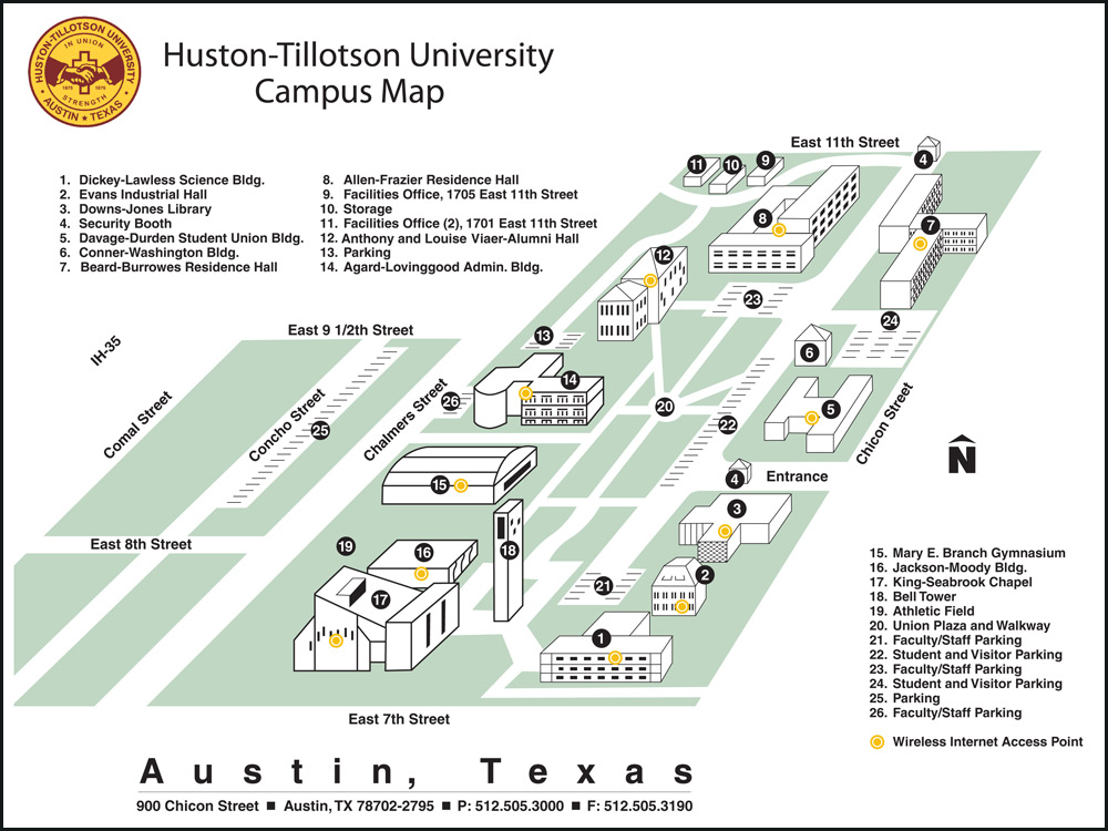 HT Campus Map
