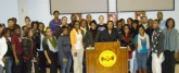 Dr. Natanya Duncan, the guest speaker, and DuBois Scholars  at the Seventh Annual DuBois Lecture on February 9, 2010.