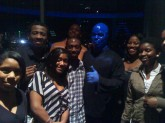 DuBois Scholars who completed the Fall 2011 Semester with a 4.0 GPA attend Blue Man Group Performance, February 2011.