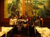 Graduating DuBois Scholars attend Senior Scholars' Dinner held at Fogo De Chao, April 2011.