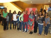 DuBois Scholars attend West Side Story held at Bass Concert Hall, April 2011.