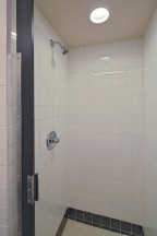 Community shower area