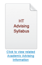 HT Academic Advising Syllabus