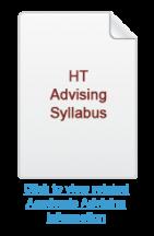HT Academic Advising Syllabus