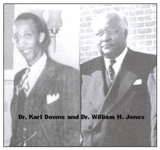 Dr. Karl Downs and Dr. William H. Jones