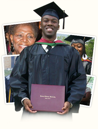 Graduate with pics