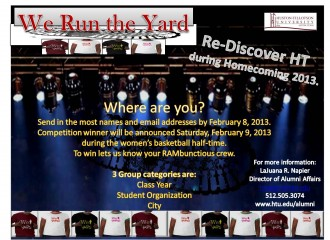 WE RUN THE YARD Flyer