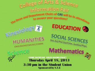 CAS Info Fair Flyer