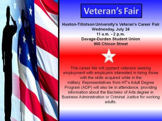Veterans Fair Flyer