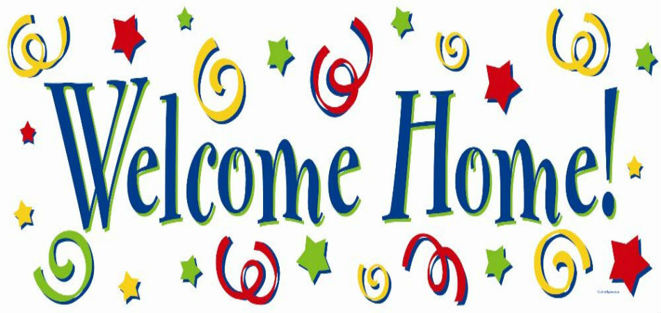 Delicate image throughout welcome home sign printable