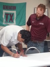 Erick Sebastian Alvarado Signing with HT Men's Soccer