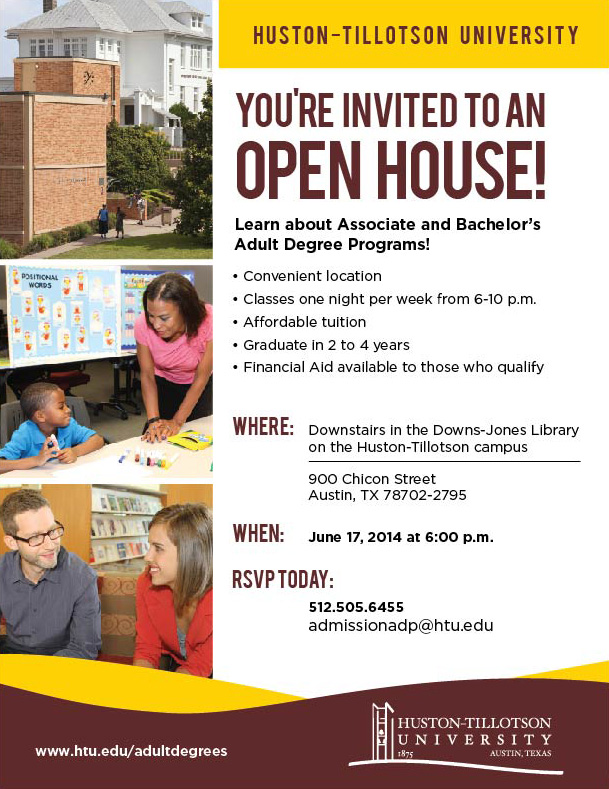 5200 HT Open House Email