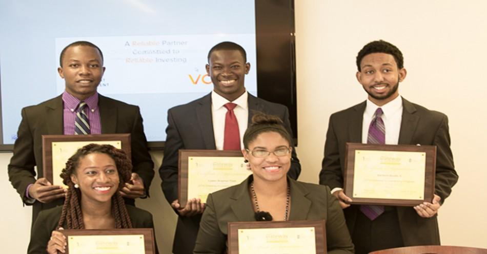 HT's Joshua Nwozor's Team Wins UNCF Gateway Leadership Competition