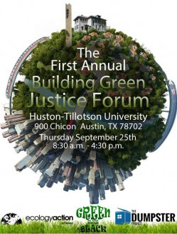 Building Green Justice Forum