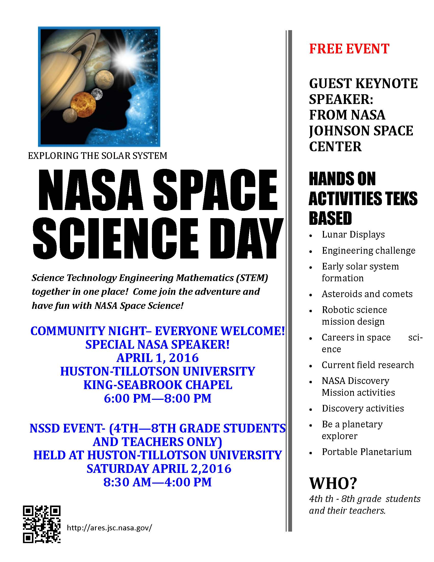 NASA Space Science Day