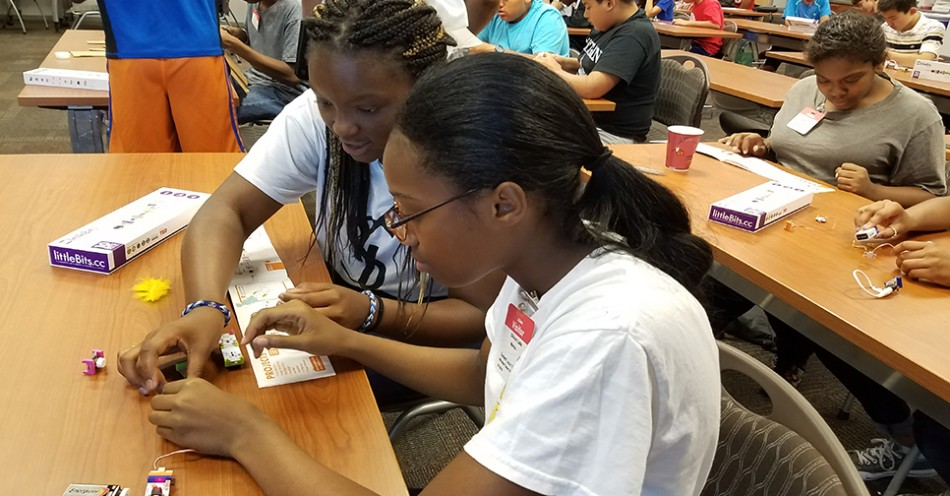 Middle/High School Students Showcase Science/Math Projects at July 29 Program