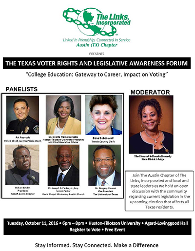 Links Voter Rights Forum