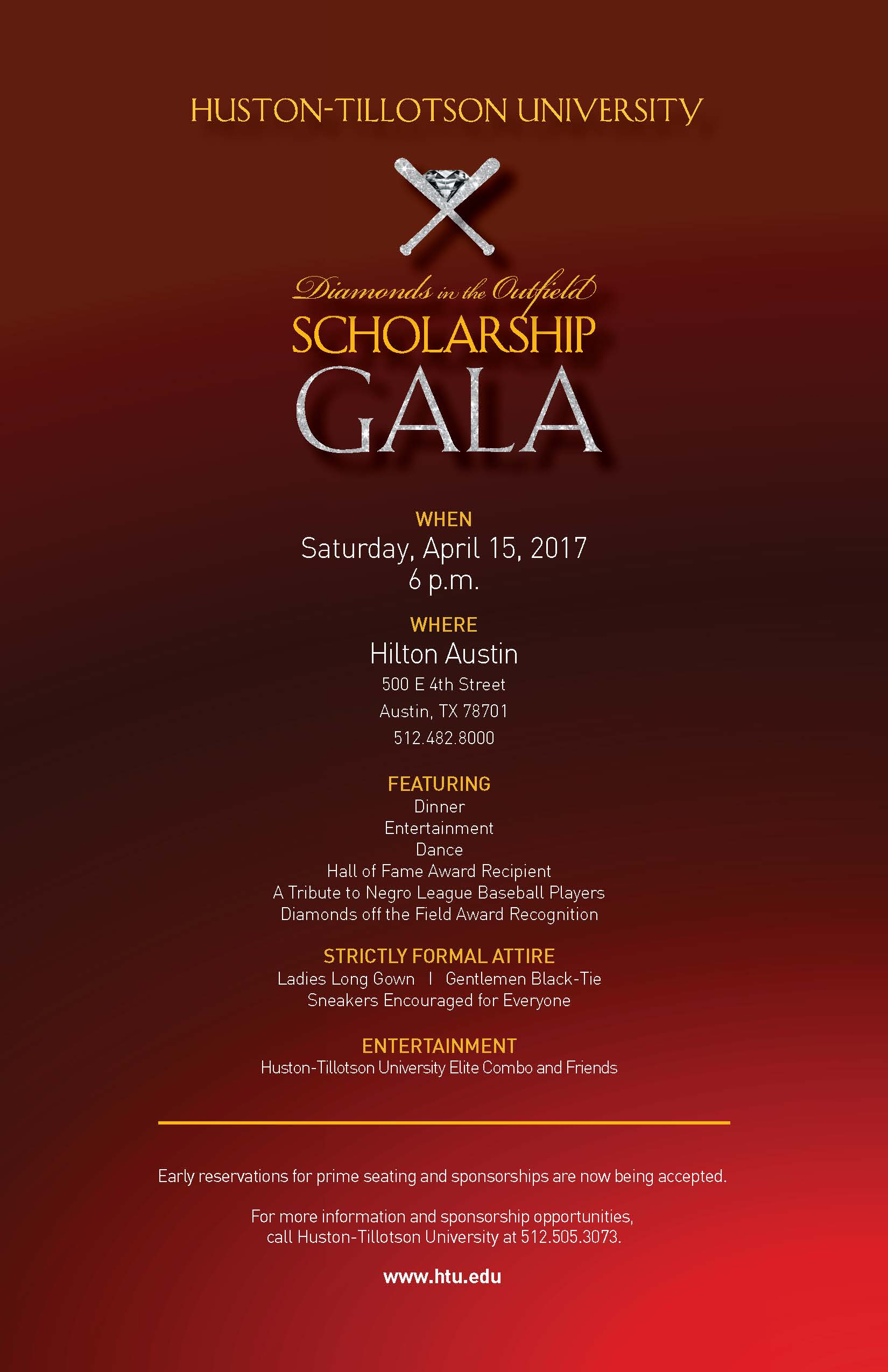 Diamonds in the Outfield Scholarship Gala