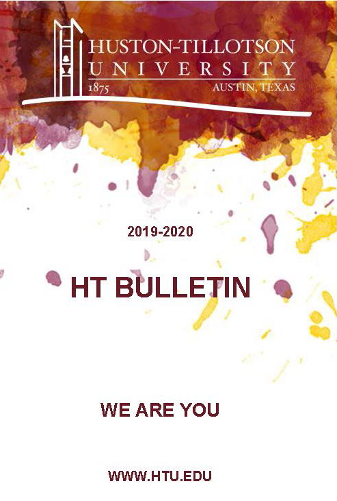 2019-2020 Huston-Tillotson University Bulletin