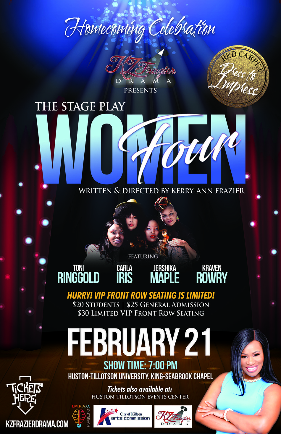 Stage Play 'Four Women'