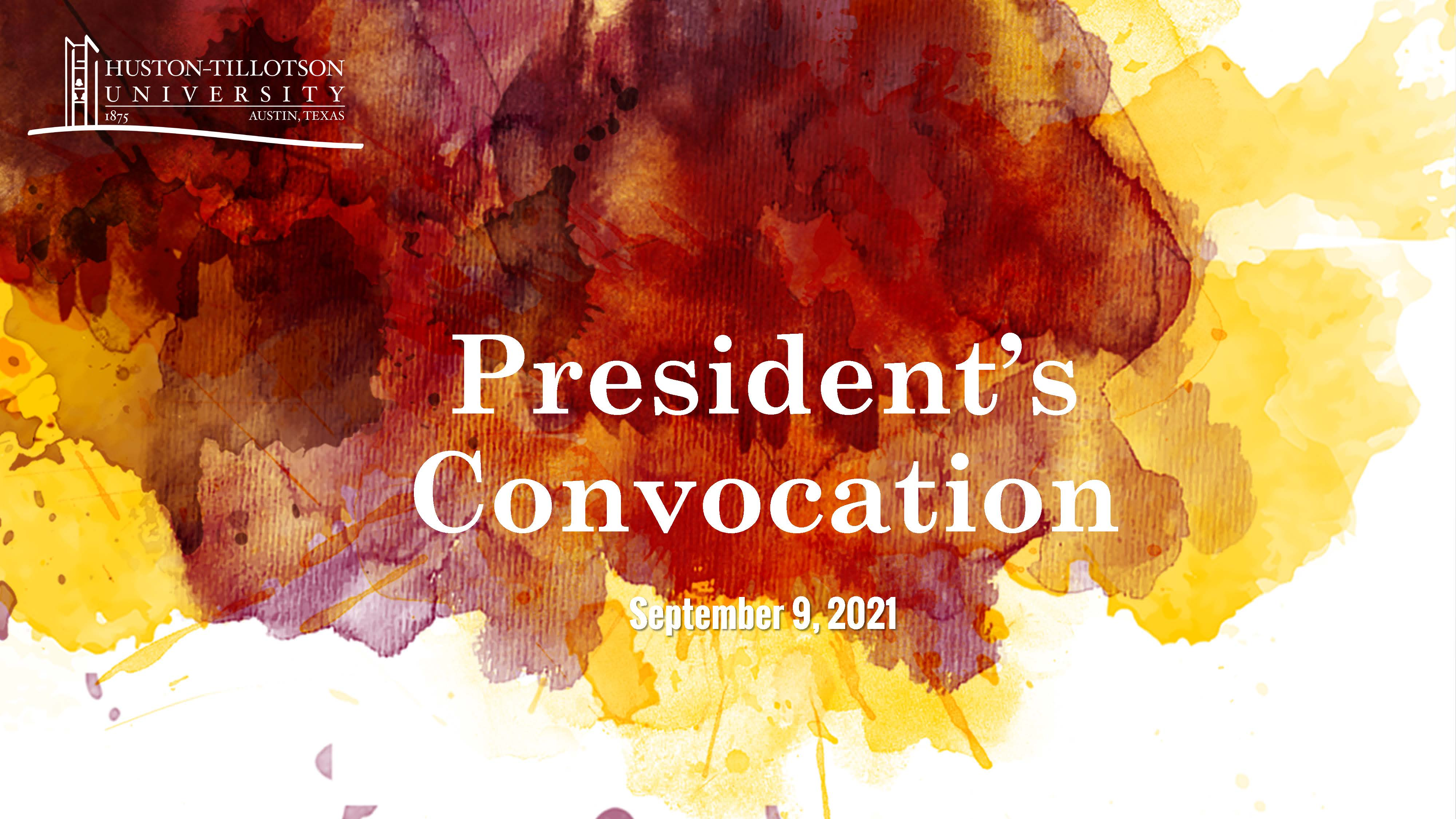 President's Convocation