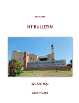2020-2021 Huston Tillotson University Bulletin