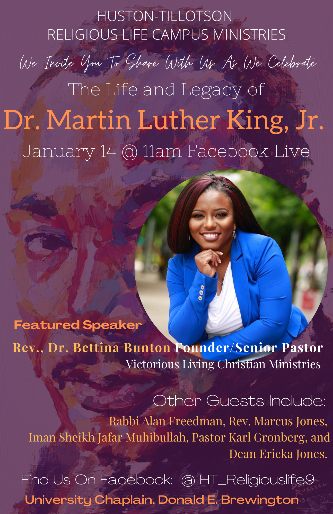 Martin Luther King, Jr. Worship Service