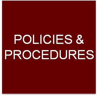 Clickable button to go to the Policies and Procedures page.