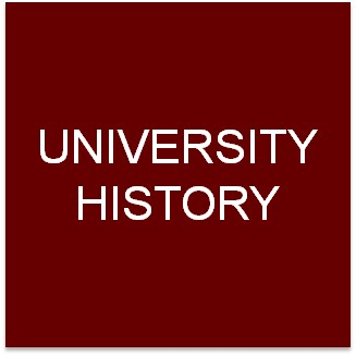 Clickable button to go to the University History page.