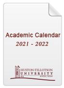 American University Academic Calendar 2022.Academic Calendar 2021 2022 Huston Tillotson