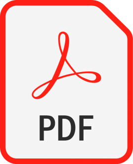 Click on this red and white PDF icon to download our Book Donation Policy.