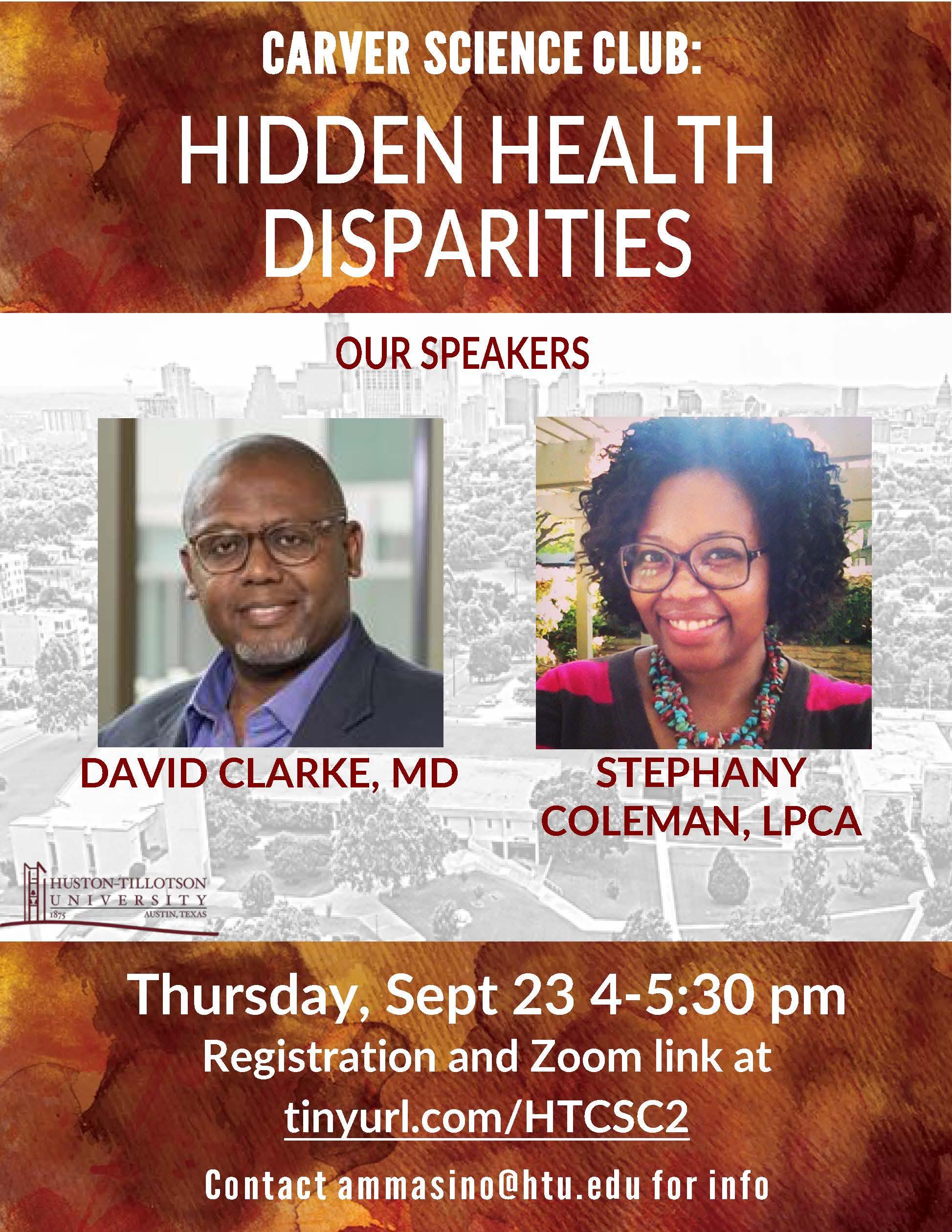 Hidden Health Disparities